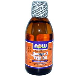 Рибеното масло на NOW Foods Omega 3 течно