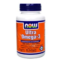 Рибеното масло на NOW Foods Ultra omega 3 fish oil