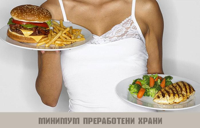 минимум преработени храни
