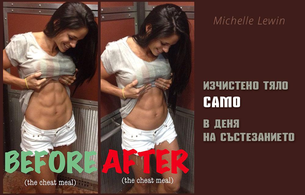 Michelle Lewin - какво се случва с тялото след състезание