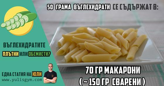 70 гр макарони