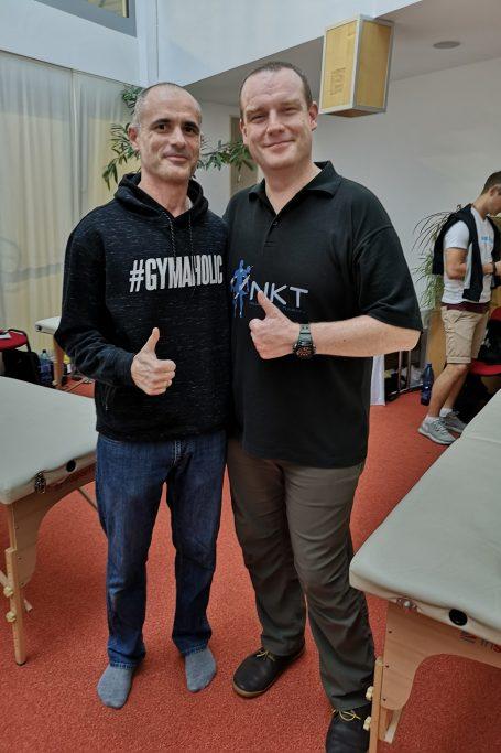 със Саймън Джоунс в Братислава