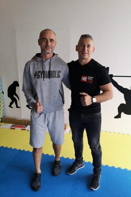 с Петер Лакатош в Братислава